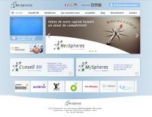 Communication graphique globale de NeoSpheres