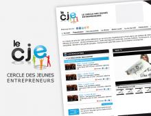 Identité graphique web pour communauté entrepreneurs