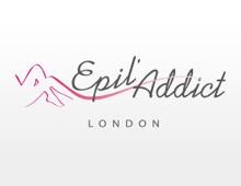 Création logotype : Epil'Addict