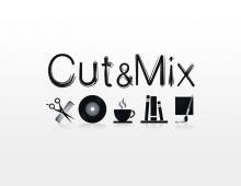 Création identité graphique pour le concept store Cut&Mix à Marseille