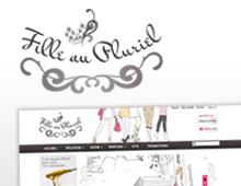 Création identité graphique globale : filleaupluriel.fr