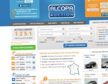Création webdesign site ventes aux enchères