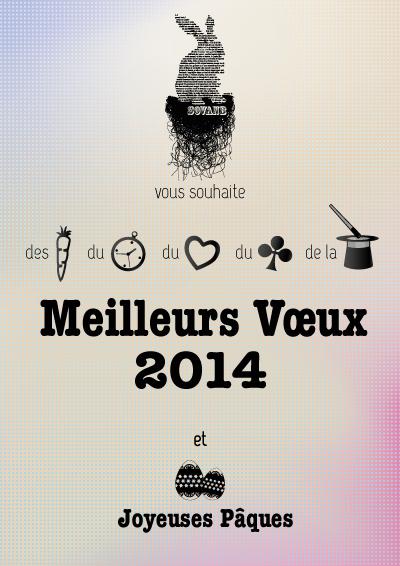 carte de voeux 2014 by sovanb