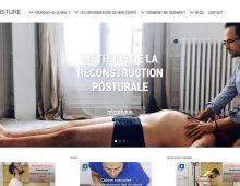UI-UX design pour Dos et Posture, cabinet de kinesithérapie